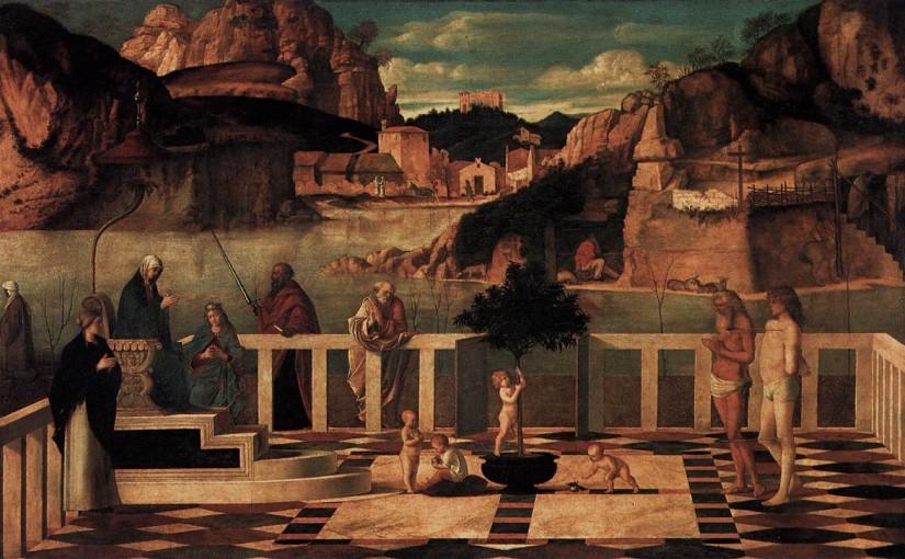 """Bellini's """"Sacra Allegoria"""""""