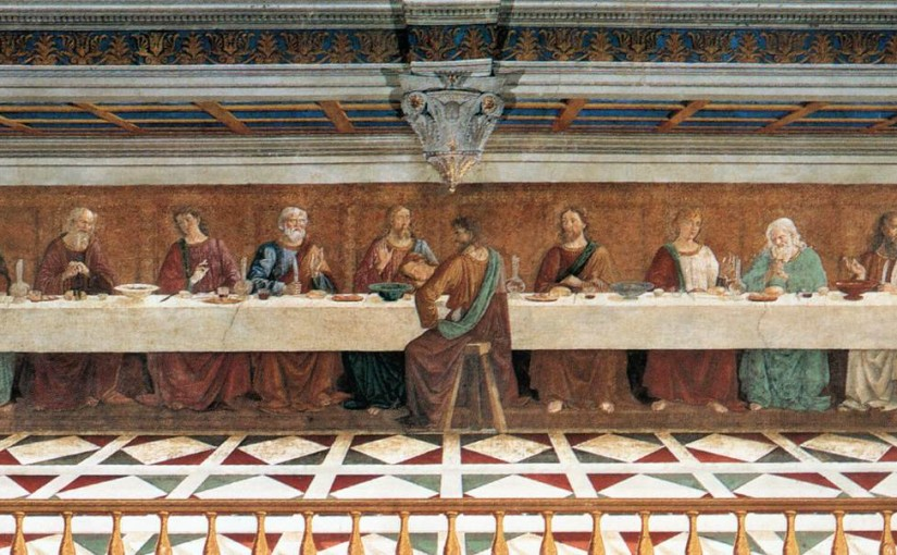 Badia a Passignano and the Last Supper by Domenico Ghirlandaio